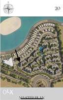From owner - Palm Hills Alamein - Resale lagoon view corner apartment
