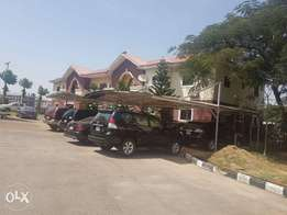 Three bedroom flat all room are in suits in nation wide estate wuye,