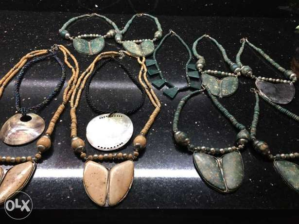 antique Yemeni ladies necklaces