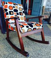 Let this Mahogany rocking seat rock your world