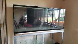 Big Glass Fish Tank with filter tank for sale - R15k ONCO