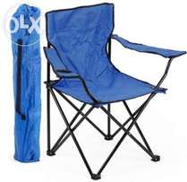 Outdoor Folding Fishing Chair w/ Carry bag and Cup Holder-Brand New