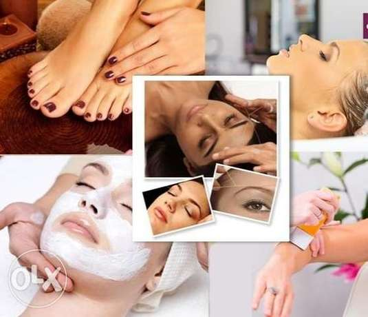 Home services for beauty service