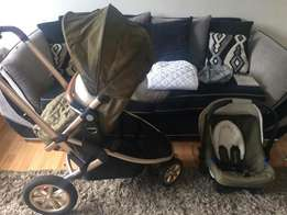 Mothercare xpedior pushrchair and car seat for sale