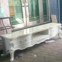 Royal tv stand marble top