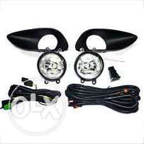 Toyota Belta/Vios: Fog lamps set, complete with wiring/covers: 8500
