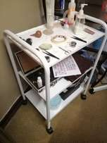 Therapists white trolley