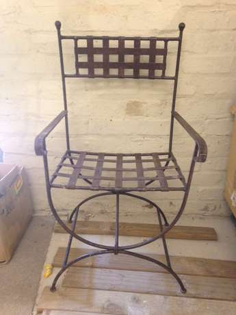 Wrought Iron Chairs & Bar stools/tables Somerset West - image 1