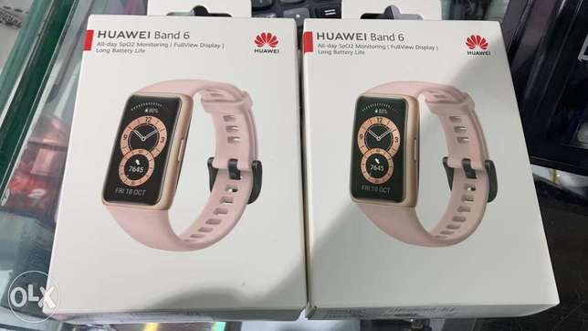 Watch Huawei band 6 pink 64$