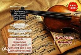 Violin Tutorial DVD Over 120 practical videos and 4 e-books