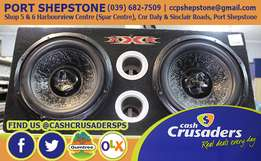 2X12 Car Subwoofer DVC Subs In Box