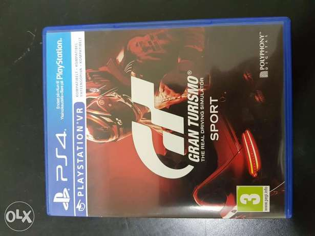 Gran Turismo Sport - GTS ps4 game - Playstation 4 racing