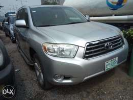 super clean highlander 2008 model thumb start full options