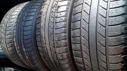 4 X 255/55/19 Good year Tyres for sell