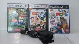 Playstation 2 Eye Toy Bundle, Awesome Condition!