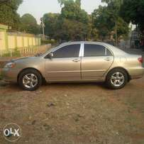 Its a 2005 Toyota Corolla one of the finest brands we have around town