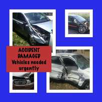Accident damaged vehicles wanted urgently