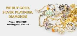 Sell your gold, diamond, silver Jewellery