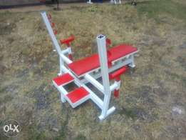 Customized Gym Benches and Accessories