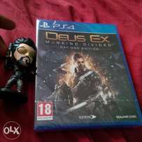 PS4 Deus Ex: Mankind Divided for sale or swap