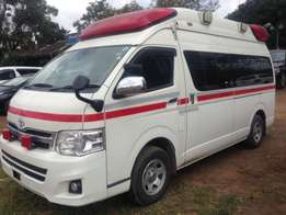 Toyota Hiace 9l Ambulance Fully Equipped with all Ambulance Facilities