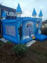 Frozen bouncing castle for hire n sale
