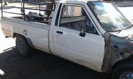 Repairable Toyota Hilux 3Y Petrol (2L)