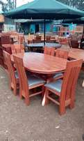 6seater dining set.