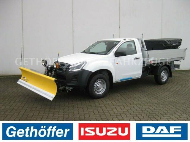 Isuzu D Max Single Cab Kipper/Winter AHK 3,5t