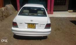A very clean and well maintained Toyota Corsa