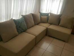 Beautiful L Shape couch for sale CASH ONLY NO EFTS THANKS