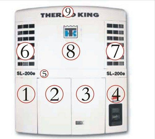 King THERMO  - SL200E refrigeration unit
