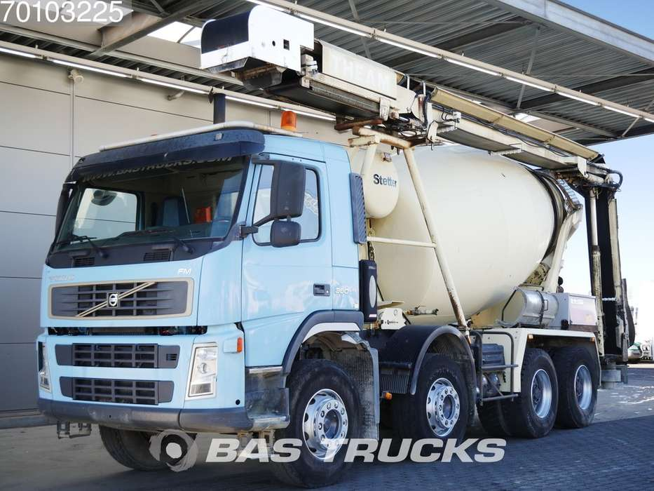 Volvo FM9 380 8X4 Manual Big-Axle Theam-13.2m-Förderband - 2006