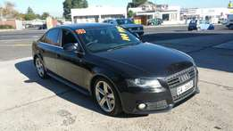 2009 Audi A4 1.8T Multitronic Ambition B8