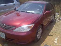 This 6 months old 2003 Camry is up for grabs!