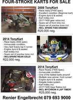 Four Stroke Racing Karts For Sale