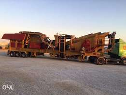 Portable gravel crusher sale for sand and gravel production