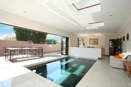 Immaculate Randburg home with indoor pool.