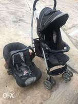 Graco car seat and pram for sale
