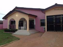 4 Bed with 2 bed boys quarters for rent at East Legon