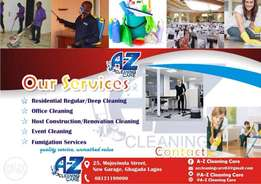 A-Z cleaning care