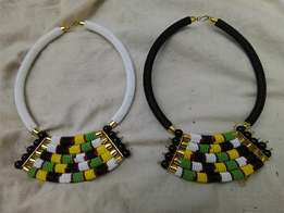 Ladies African choker necklaces