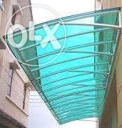 Poly-carbonate Shades, Canopies and Roofing