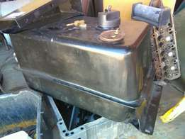 Land rover under seat fuel tank