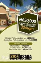 ASABA: Own a genuine and cheap plot of land in OKPANAM