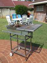 Stainless Steel Braai-Used. Price Drop