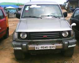 Mitsubishi Pajero for a quick buy