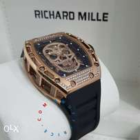 Richard mille skull face iced out