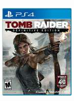 Tomb Raider Definitive Edition Ps4