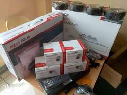 4 Hikvision Hd Cameras Standalone System